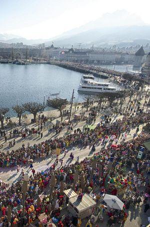 Programme du carnaval de Lucerne