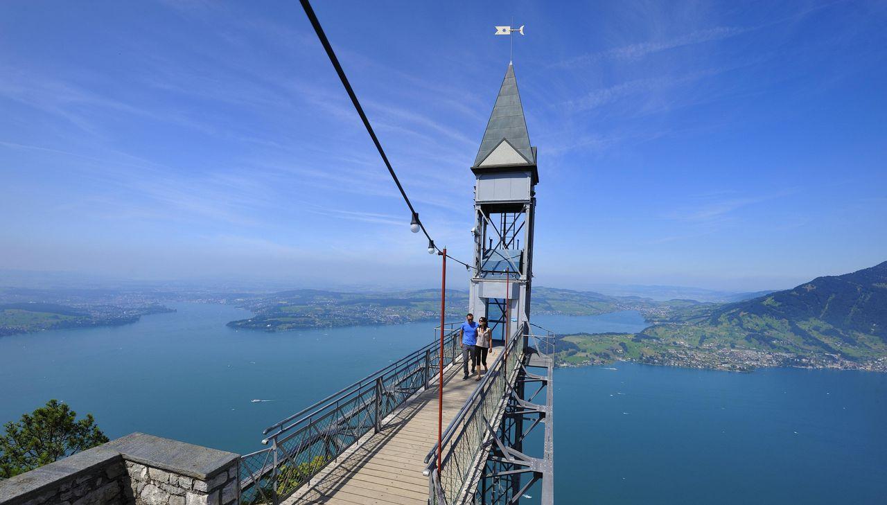 L'ascenseur du Hammetschwand
