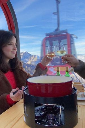 Pilatus Fondue Gondola, December - March