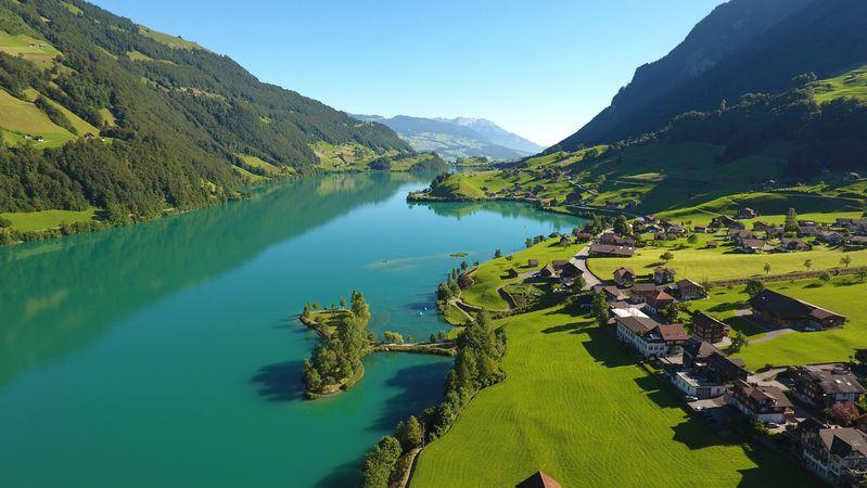 Lake Lungern circular walk
