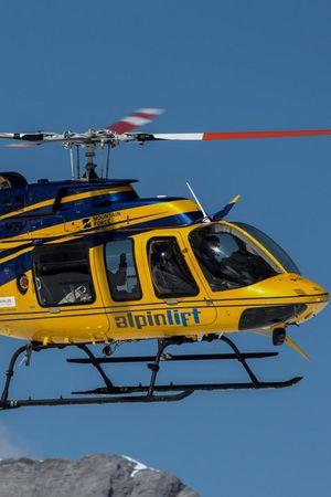 Alpinlift Helikopterflüge