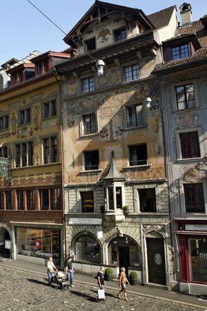 Malerische Altstadtplätze