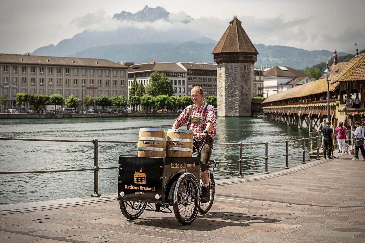 Brauereiführung und Apéro Rathaus Brauerei