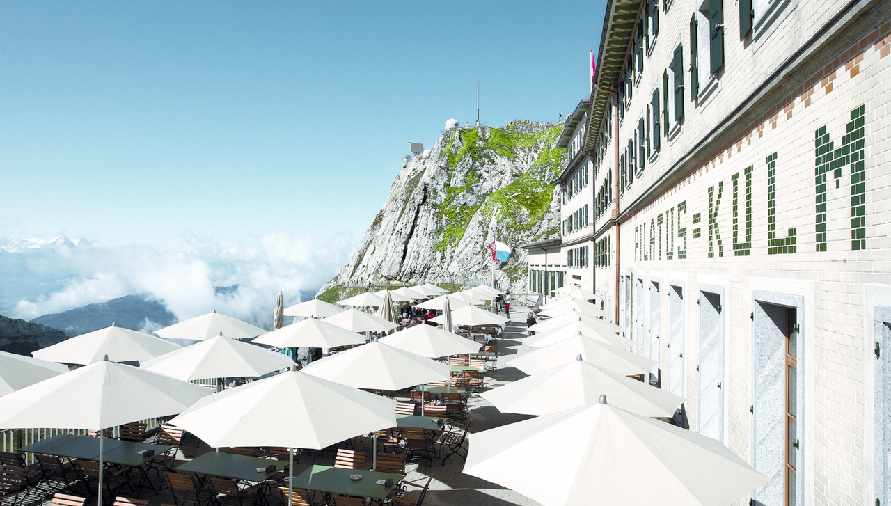 [Translate to English:] Hotel Pilatus Kulm