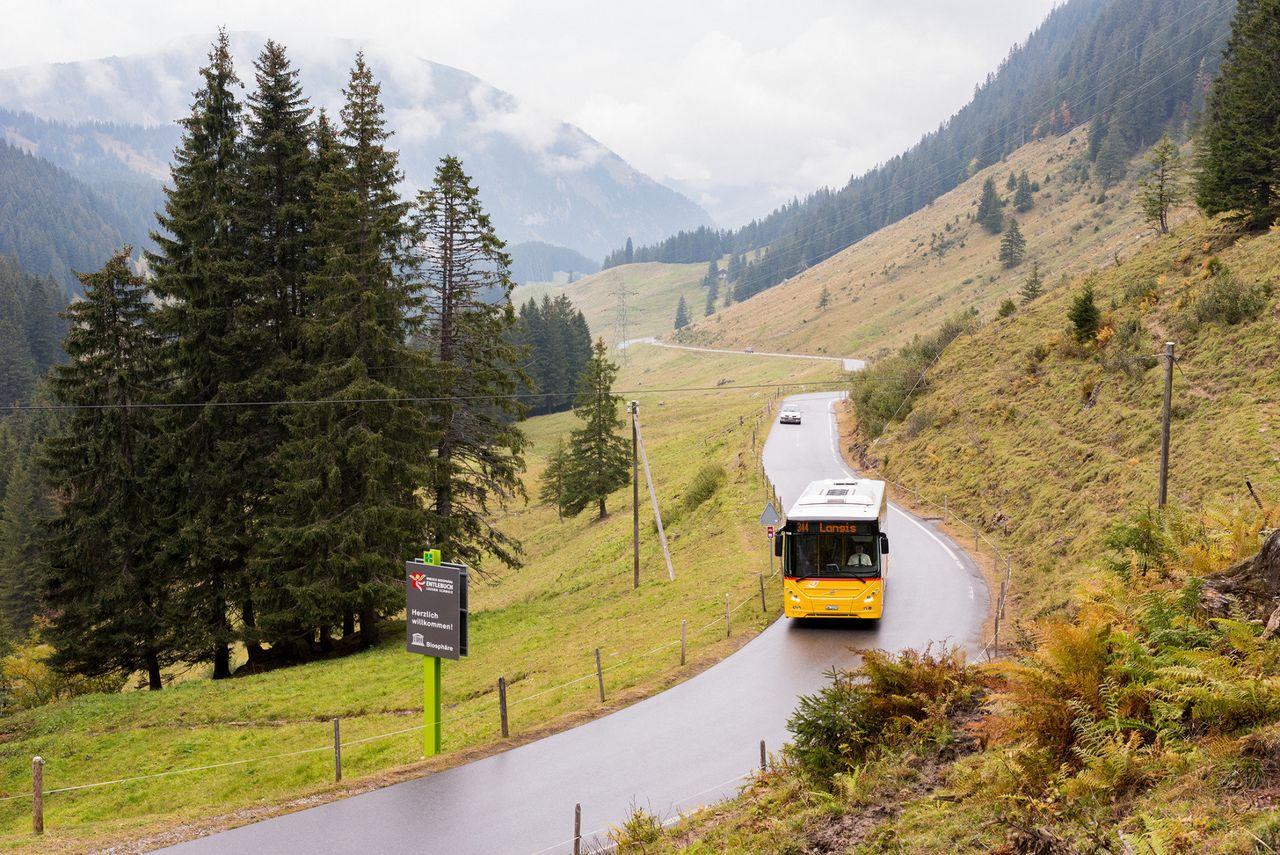 Glaubenberg - 24 Wanderungen entlang der Postautolinie
