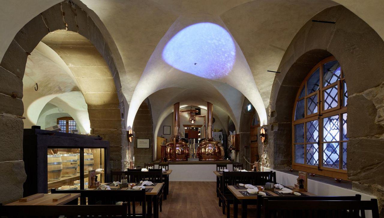 [Translate to French:] Rathaus Brauerei Luzern