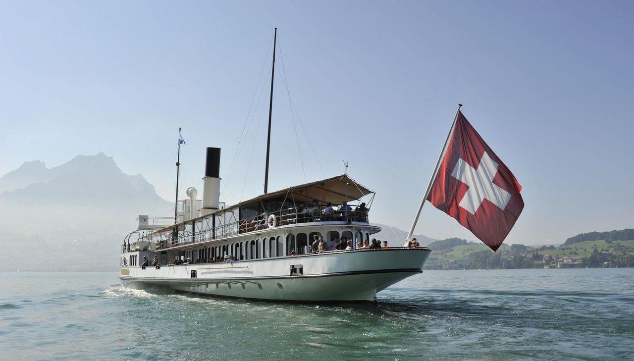 Regula Mühlemann liebt das Schifffahren auf dem Vierwaldstättersee