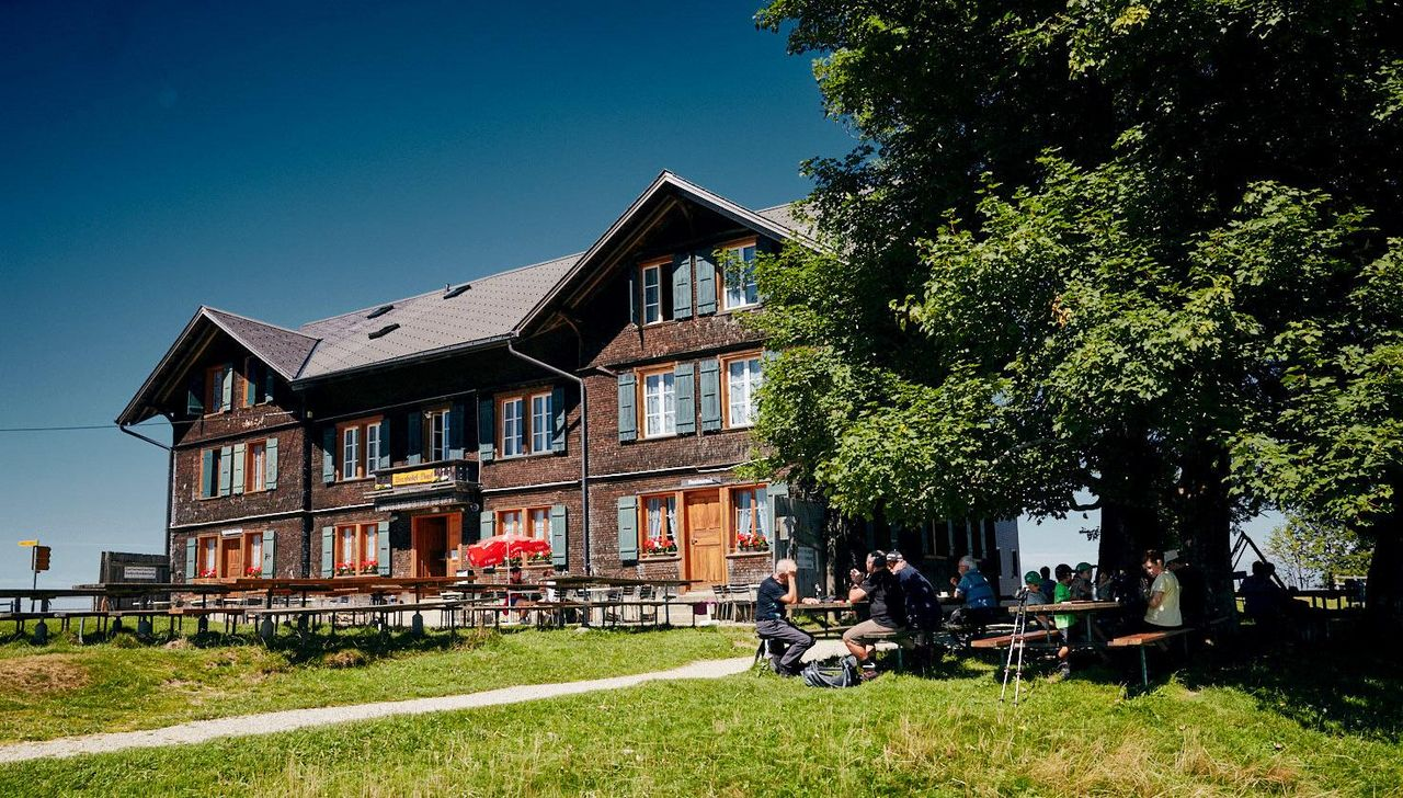 L'hôtel de montagne Napf