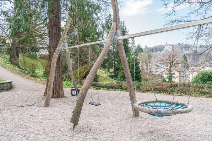 """Aire de jeu """"Wettsteinpark"""", Lucerne"""