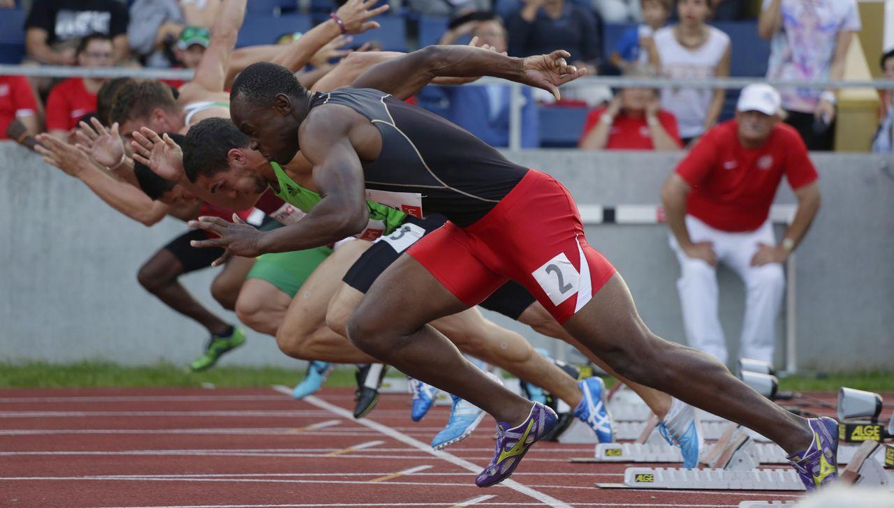 Spitzen Leichtathletik Luzern 2014