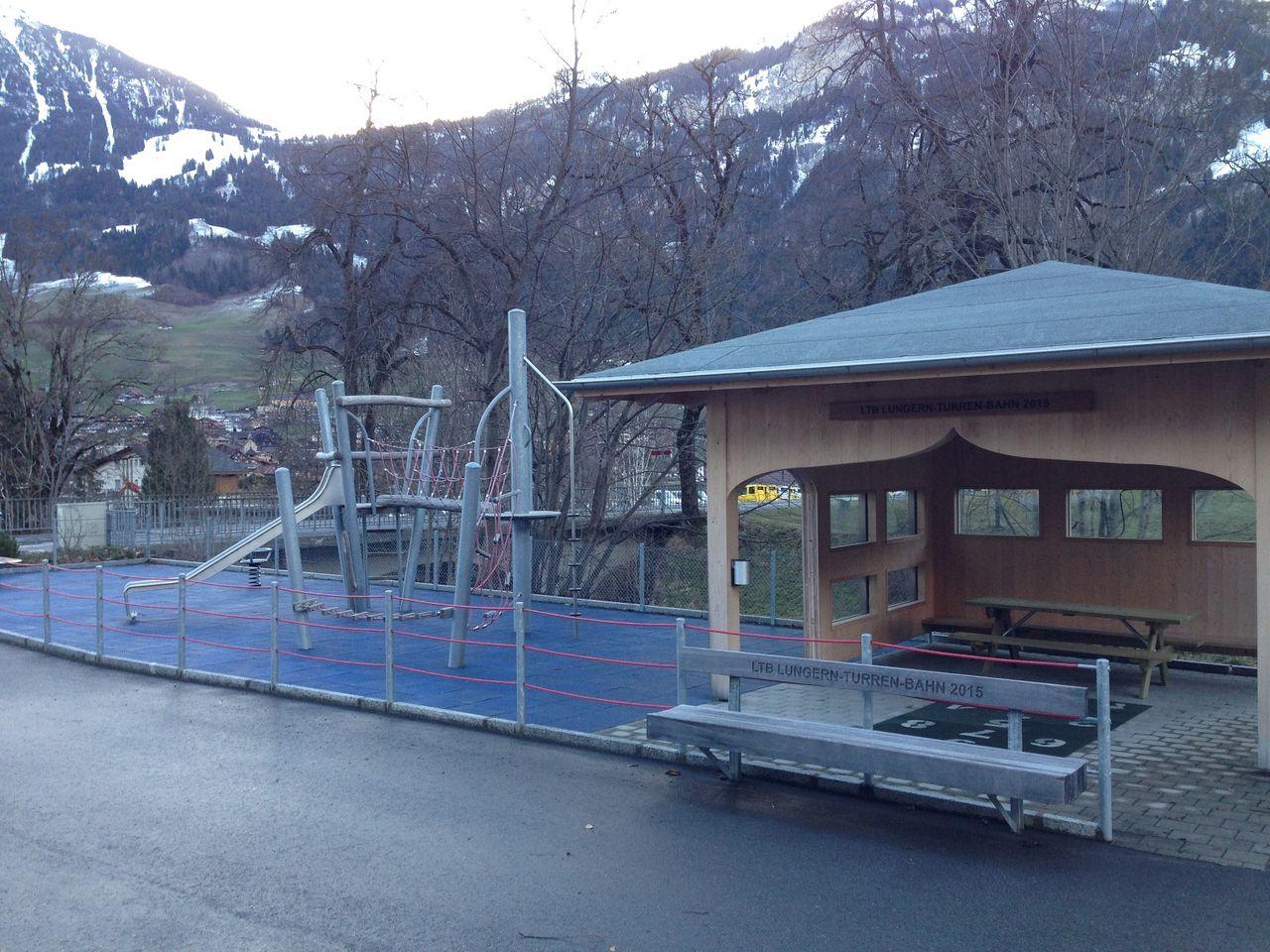 Spielplatz Turren Talstation