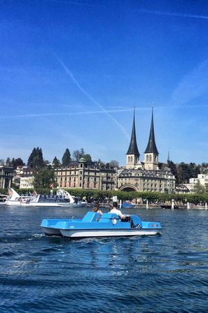 Pedalo Luzern
