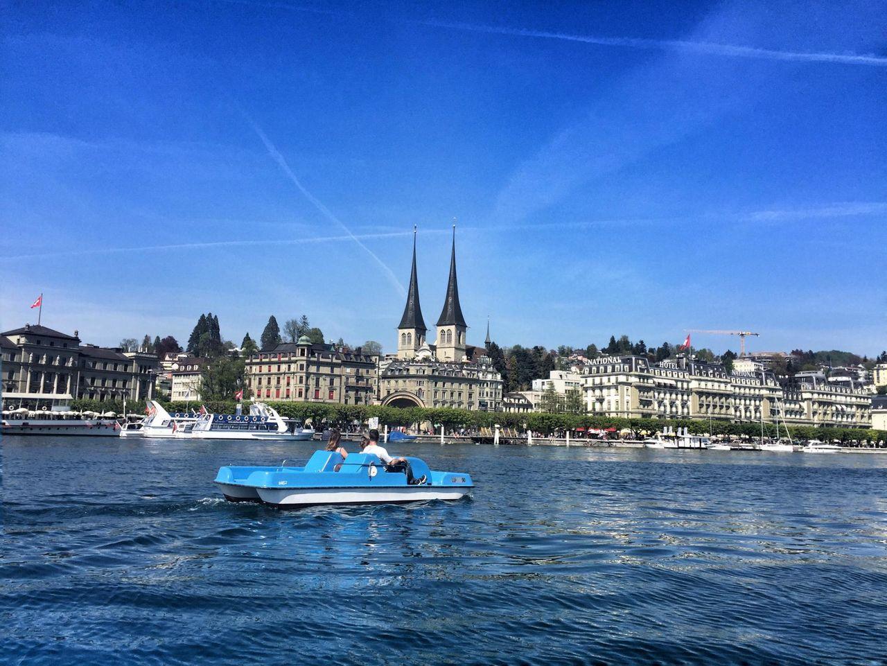 Pedalo Lucerne