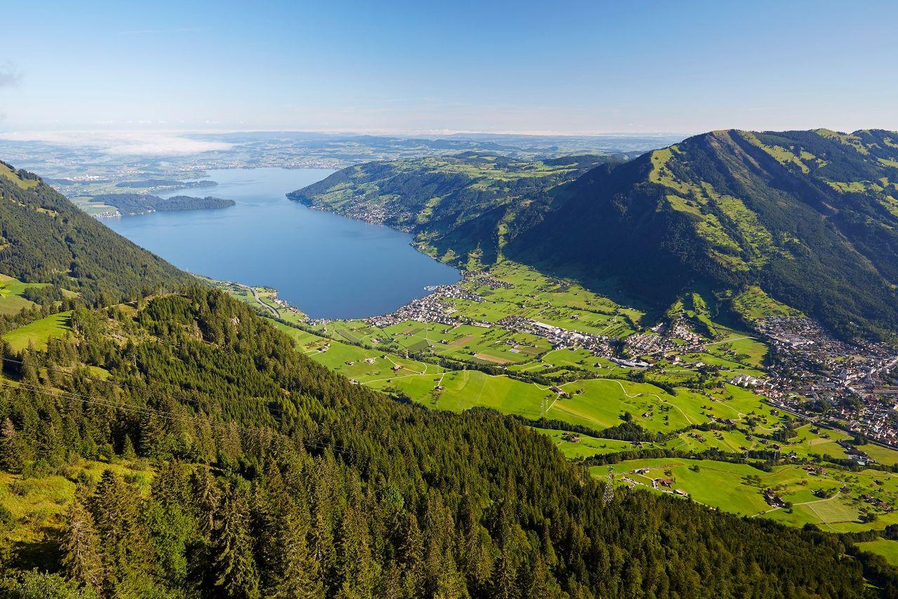 Etappe: Brunnen - Rigi-Scheidegg | Schwyzer Tal- & Gipfeltour