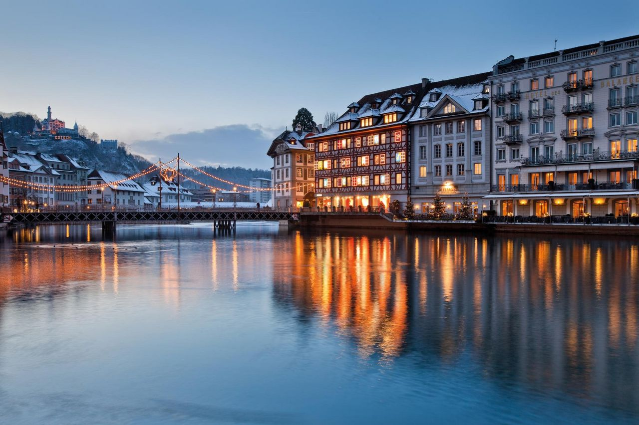 Lucerne in the Advent season