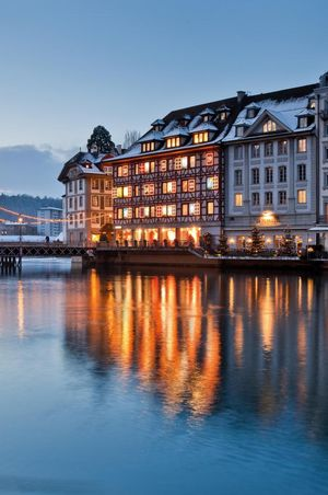 Luzern in der Adventszeit