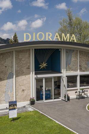 DIORAMA, Mineralienmuseum - Einsiedeln