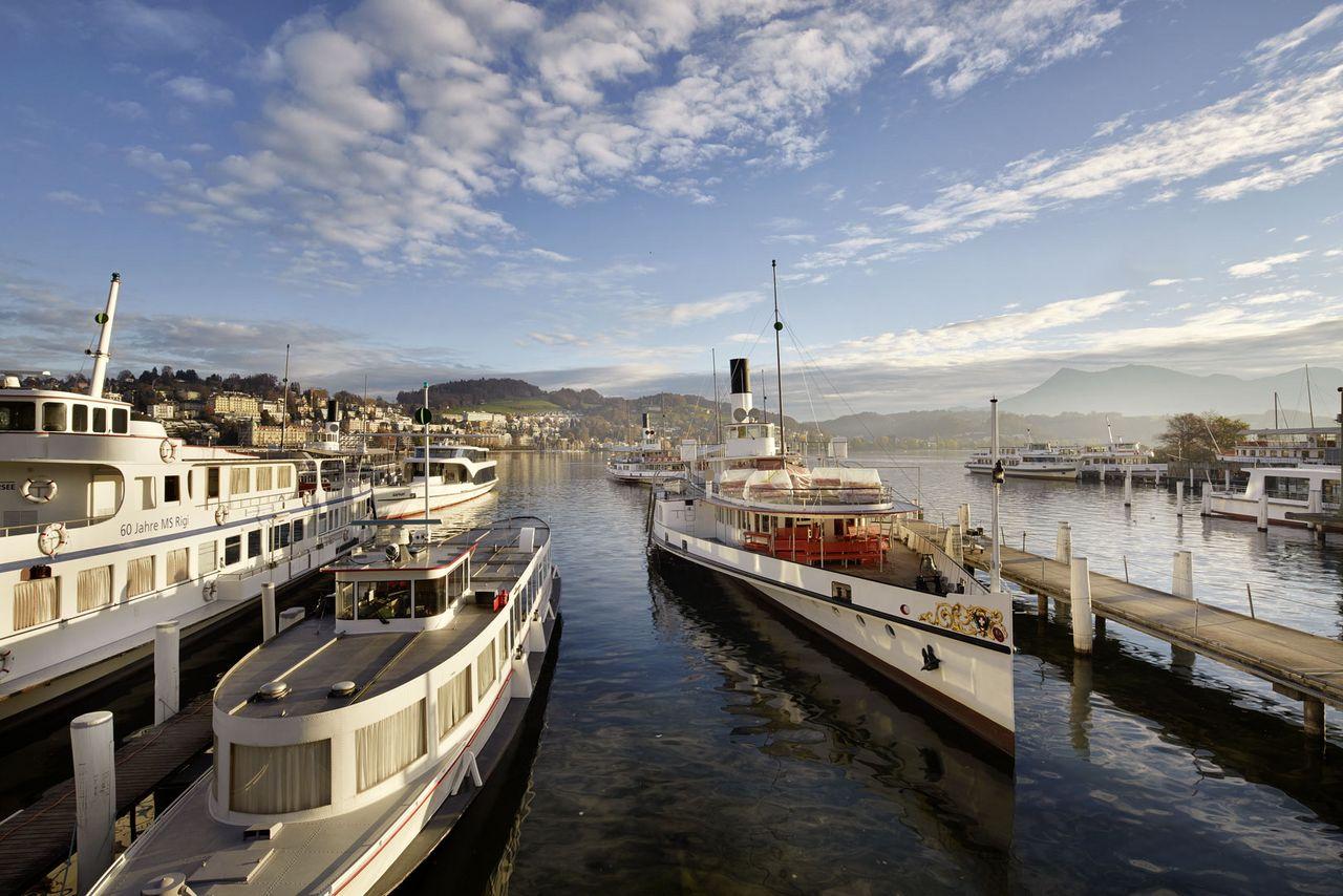 Boat cruises on Lake Lucerne