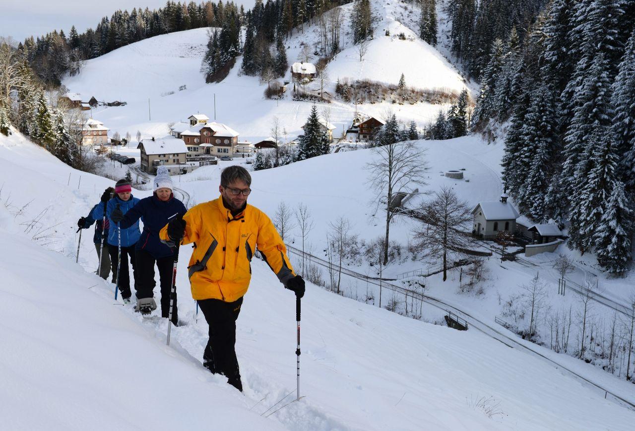 Schneeschuh Tour Luthern Bad - Niespel - Badegg