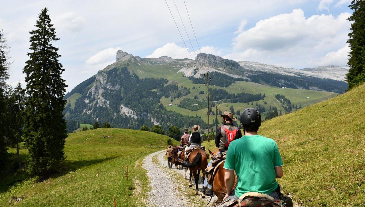 Auf dem Rücken der Pferde liegt das Glück dieser Erde sagt Stucki Trekking