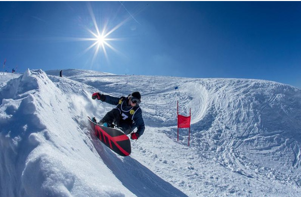 Banked slalom Stoos feat GummiLove
