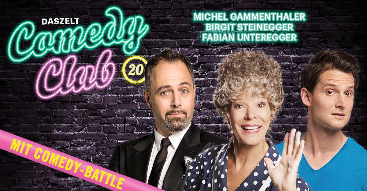 DAS ZELT: Comedy Club 20