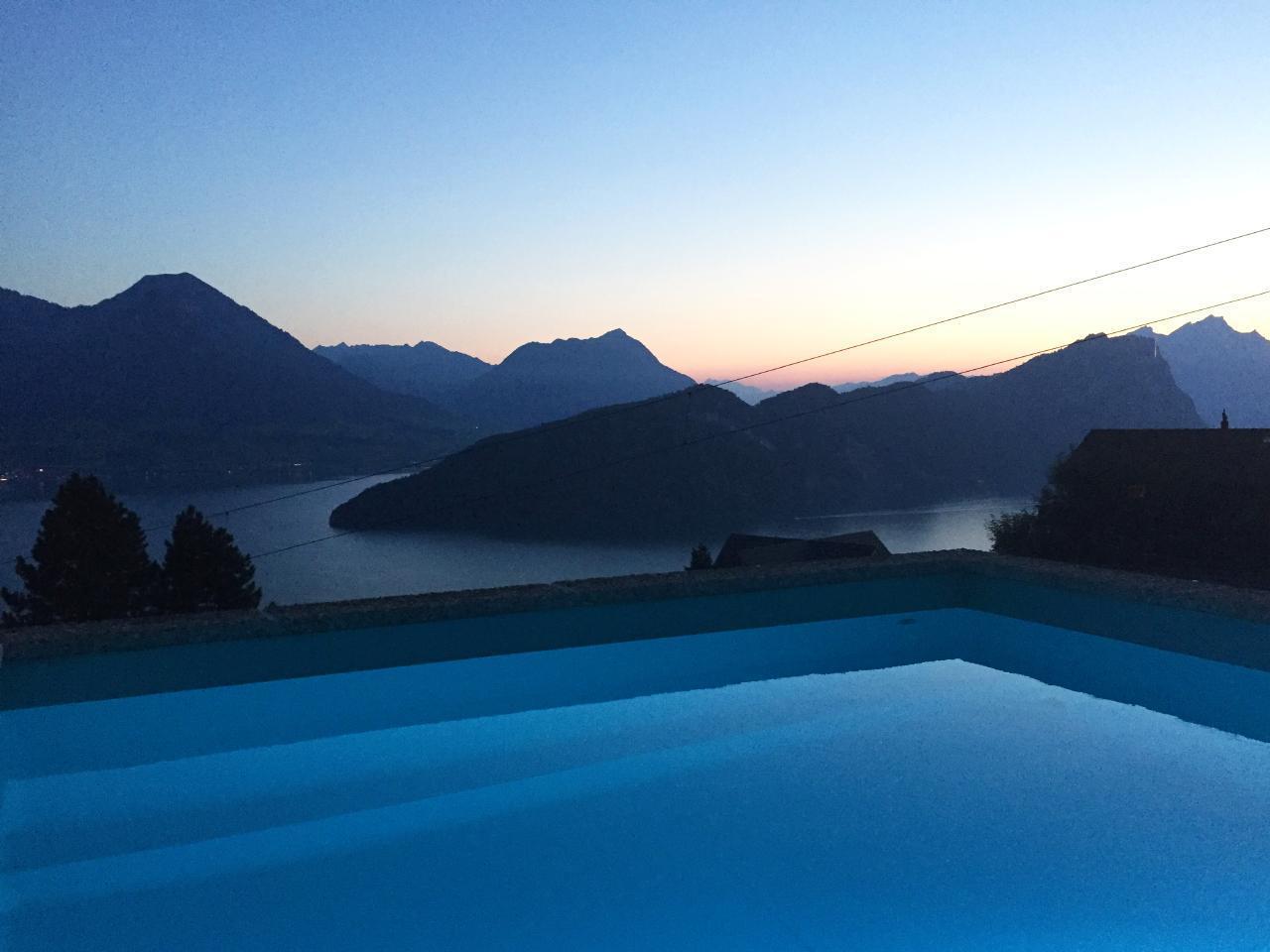Villa Bucher am Rigi mit Pool