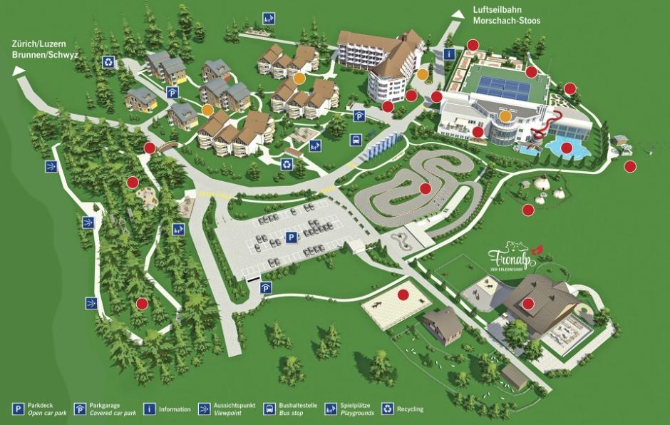 Swiss Holiday Park Morschach, App. 4-Zimmer/4-pièces