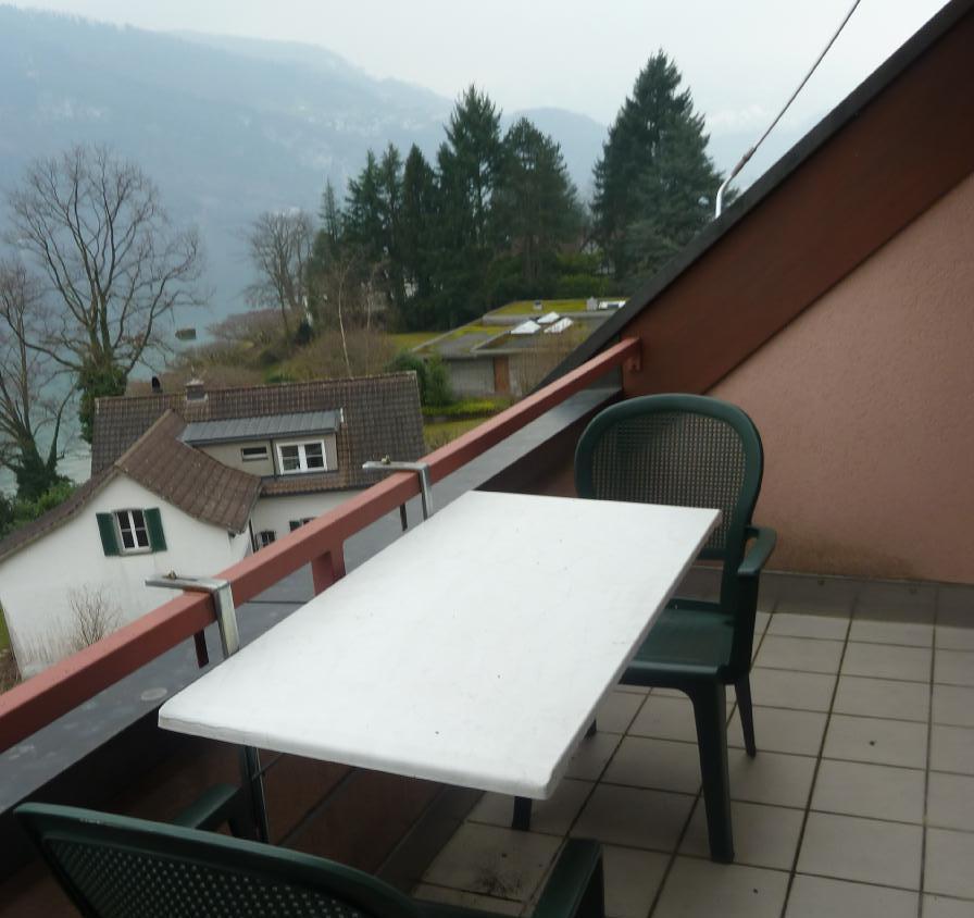 Phantastic view on Lake Lucerne