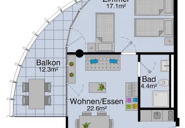 LU Pilatus II - Allmend HITrental Apartment