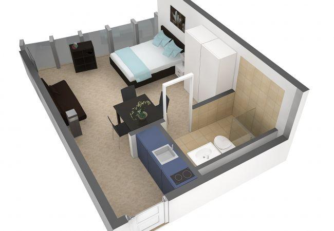 LU Bourbaki I - Allmend HITrental Apartment