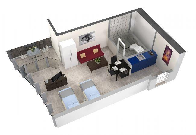 LU Gletschergarten III - Allmend HITrental Apartme