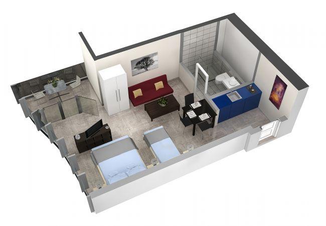 LU Schatzturm I - Allmend HITrental Apartment