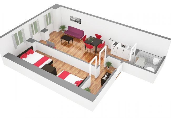 LU Saturn lll - Chapel Bridge HITrental Apartment