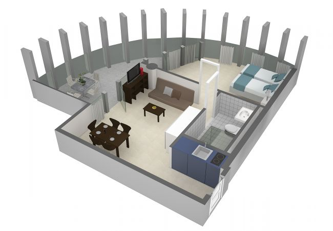 LU Rigi III - Allmend HITrental Apartment