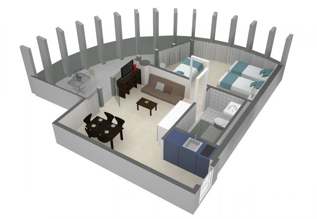 LU Titlis I - Allmend HITrental Apartment