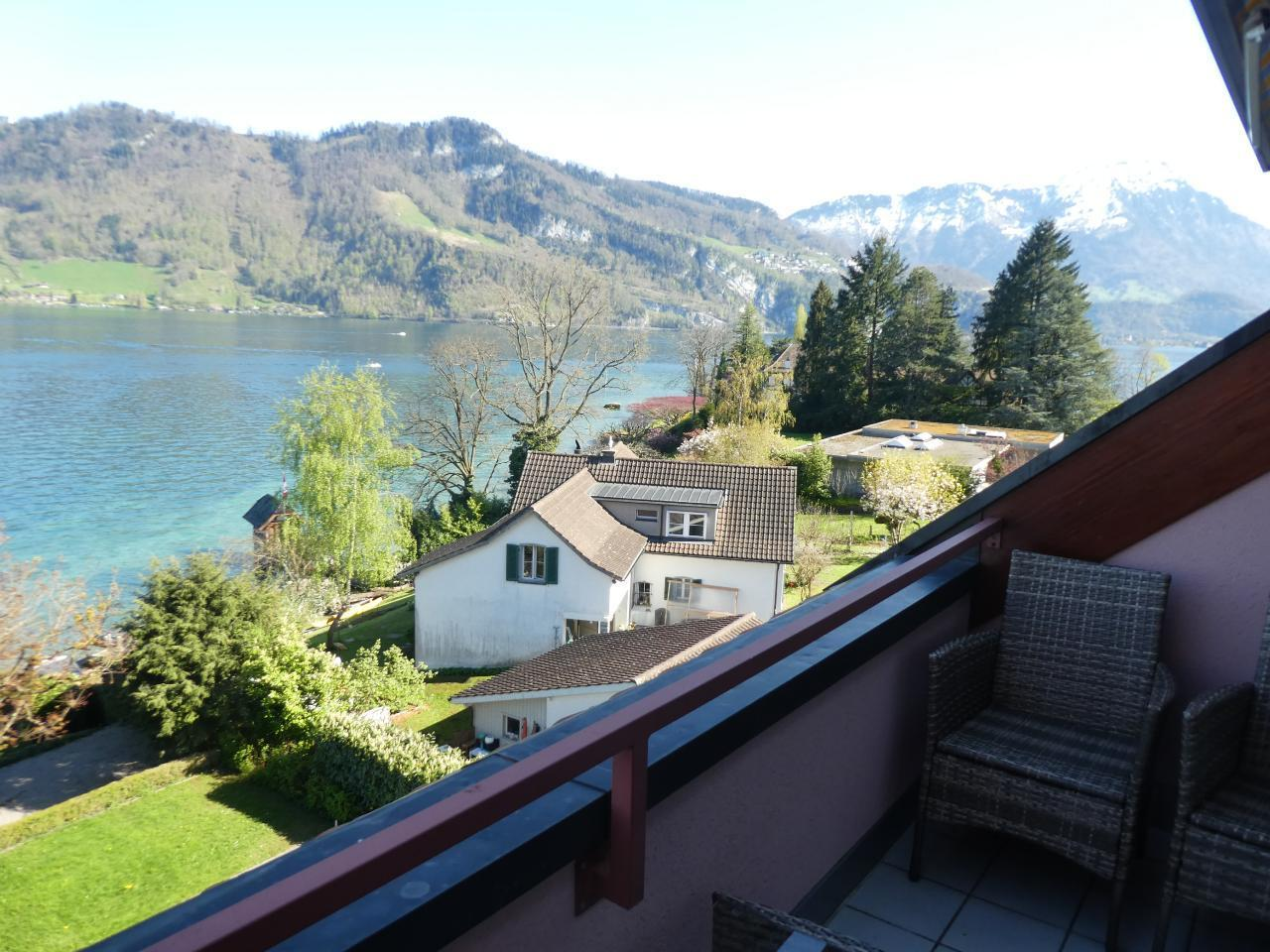 Phantastic view on Lake Lucerne