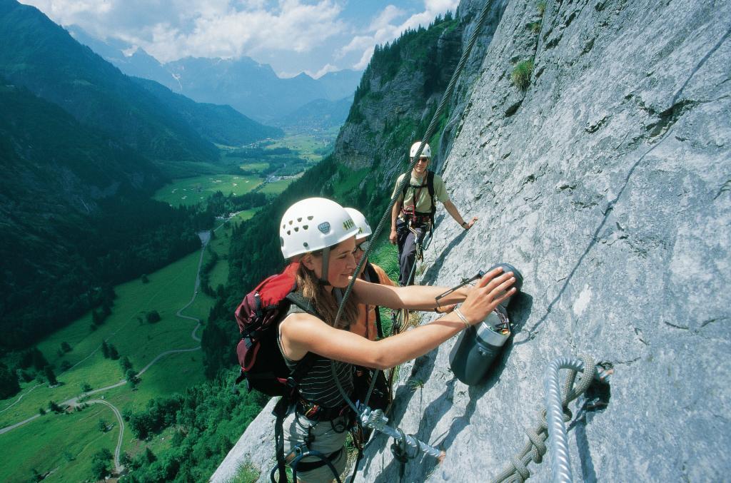 Der Fürenwand-Klettersteig über Engelberg/Titlis