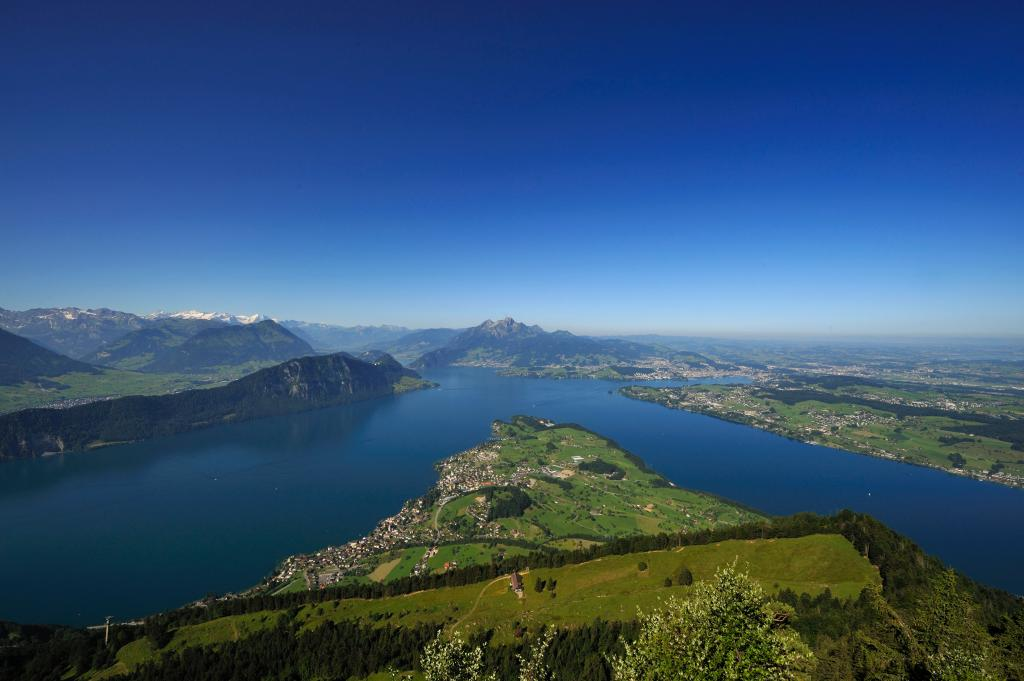 A Tour to Valley and Summit - Mt. Rigi Section