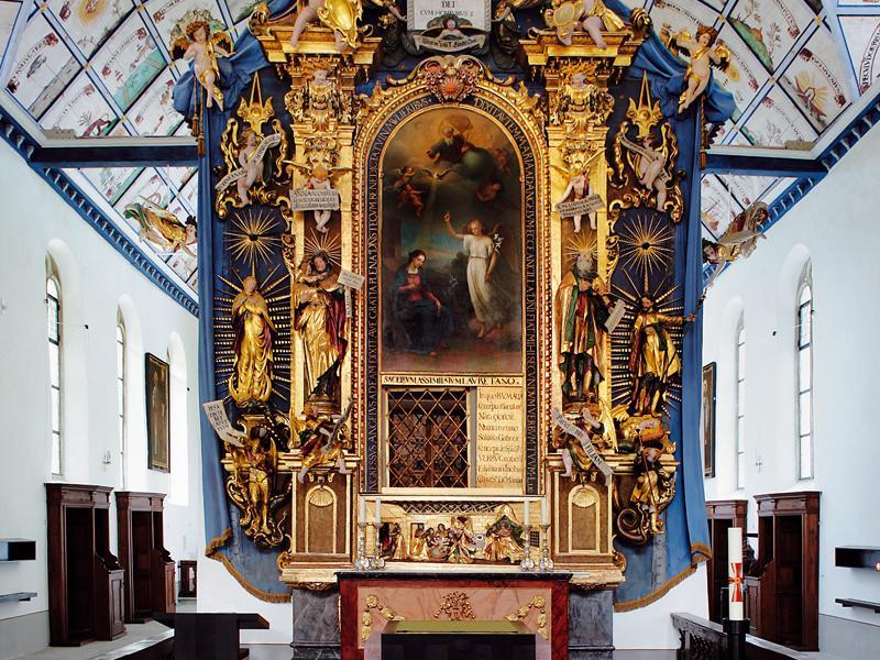 Hergiswald place of pilgrimage