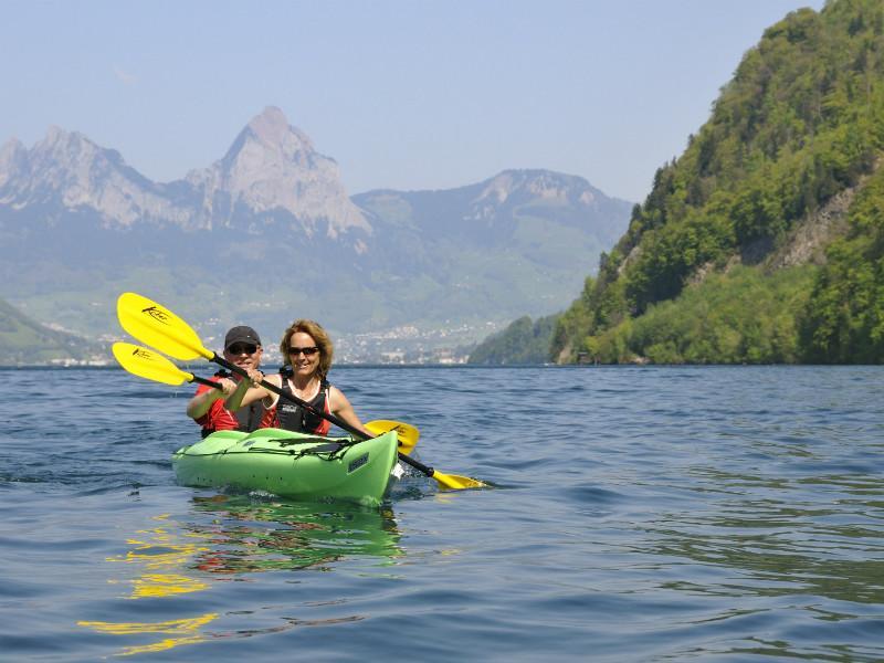 Canoe touring, Kanuwelt Buochs