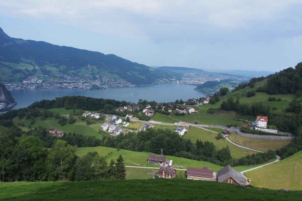 Fahrt zum Bürgenberg