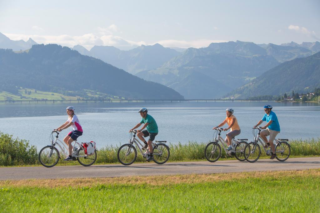 Herzroute - Etappe 8: Einsiedeln-Rapperswil (SchweizMobil Route 99)