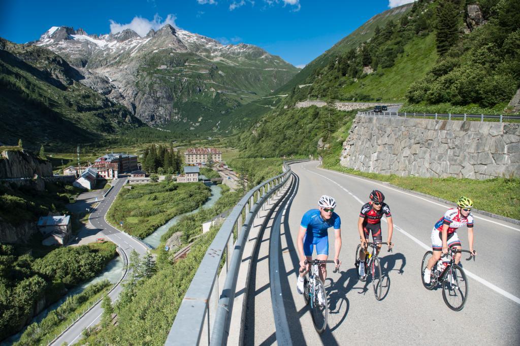 RadArena/St.Gotthard: Susten-Grimsel-Furka