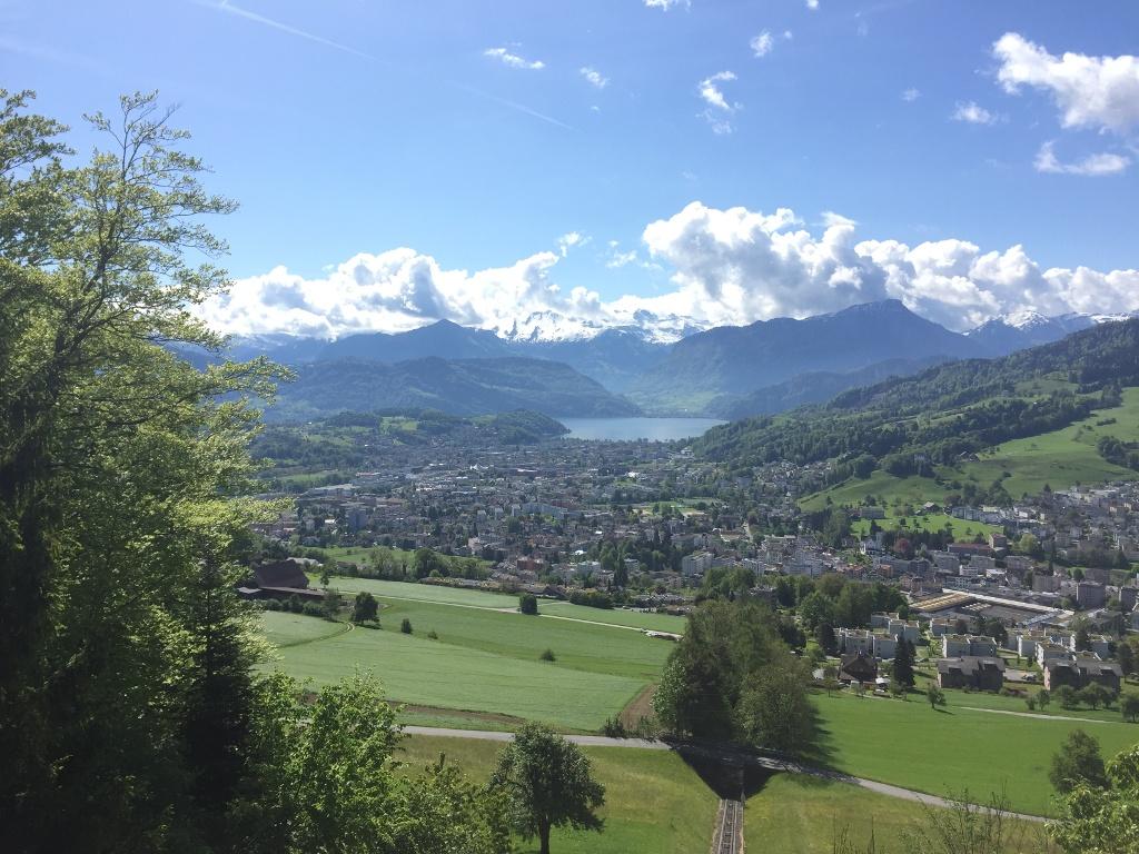 Vom Gütsch über den Sonnenberg nach Kriens
