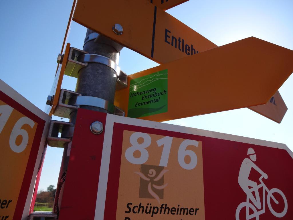 Höhenweg Entlebuch Emmental - Etappe 4: Trubschachen – Grosshorben