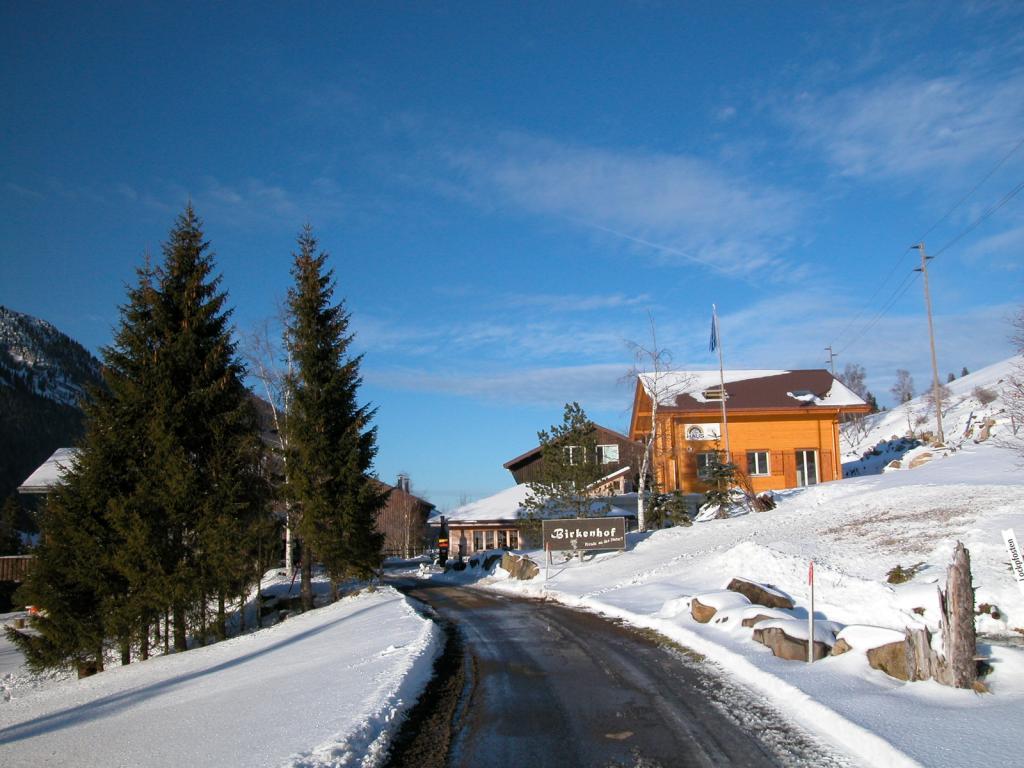 Spaziergang zum Birkenhof in Sörenberg