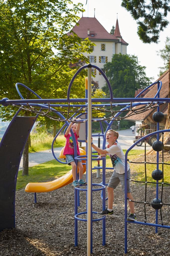 Gelfingen, Spielplatz Schloss Heidegg