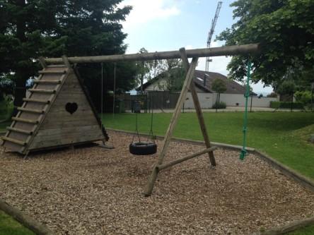 Müswangen,  Spielplatz Kindergarten