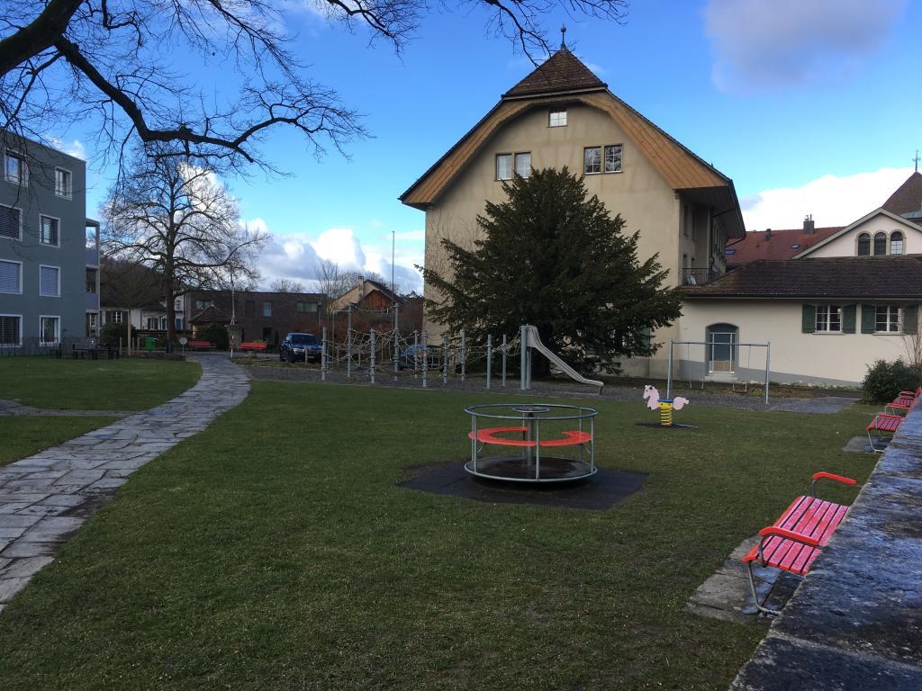 Lenzburg, Spielplatz Ziegelacker